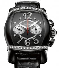 Admire Ellicott Lady Tuxedo Chronograph Watch