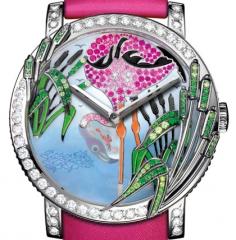 Boucheron Crazy Jungle Flamingo Watch