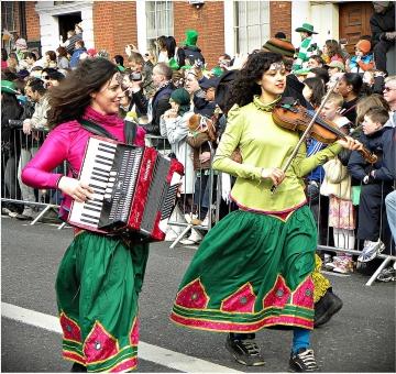Irish Folk Music Instruments