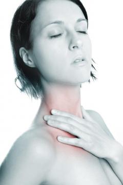 Medical sore throat treatment