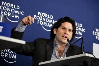 Michael Fertik at the World Economic Forum on Europe 2011