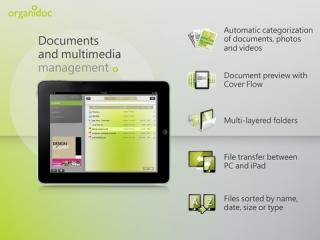OrganiDoc HD for iPad