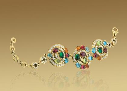The Bvlgari Astrale Bracelet