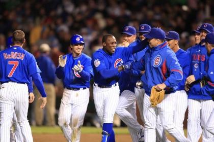 The Chicago Cubs Baseball Team