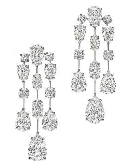 The Mrs. Winston Diamond Earrings