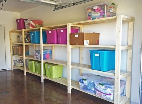 Garage racking Get A Jumpstart at Organising