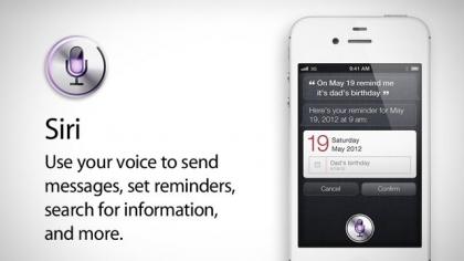 Siri on iPhone 4